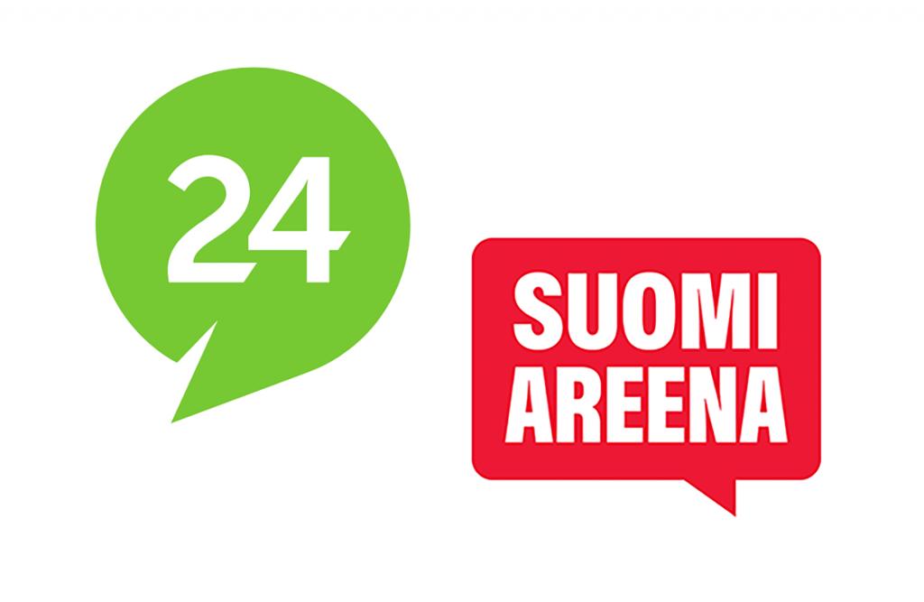 Suomi24:n ja SuomiAreenan logot